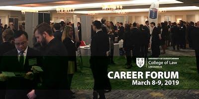 U of S College of Law Career Forum 2019- Firm Registration