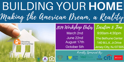 Housing Partnership Homebuyer Education Class Jersey City 2019