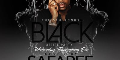 The 5th Annual All Black Attire Party at Temple at Temple Free Guestlist - 11/21/2018