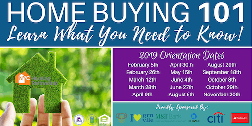 Housing Partnership Homebuyer Orientations Jersey City 2019