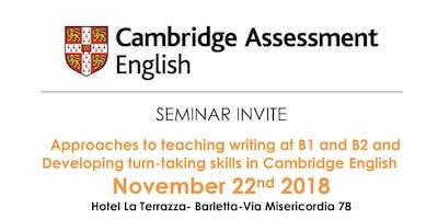 CAMBRIDGE English Seminario Formazione Docenti