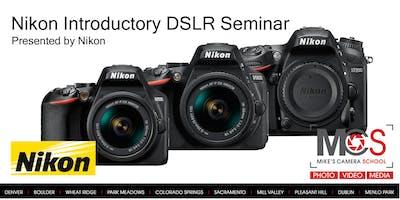 Nikon Introductory DSLR Camera Seminar Presented by Nikon - Dublin