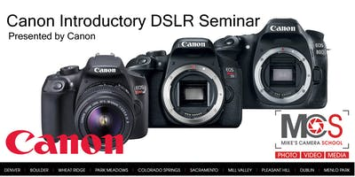 Canon EOS DSLR Camera Seminar Presented by Canon- Dublin