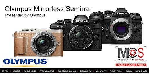 Olympus Interchangeable Lens Camera Seminar Presented by Olympus- Colorado Springs