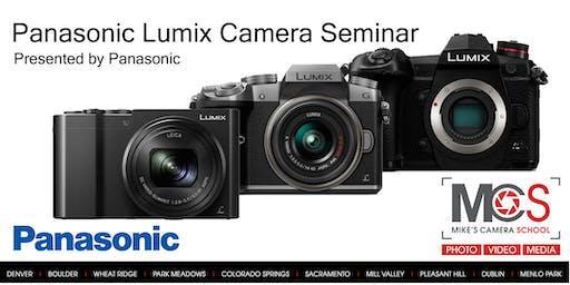 Panasonic Lumix Camera Seminar Presented by Panasonic- Denver