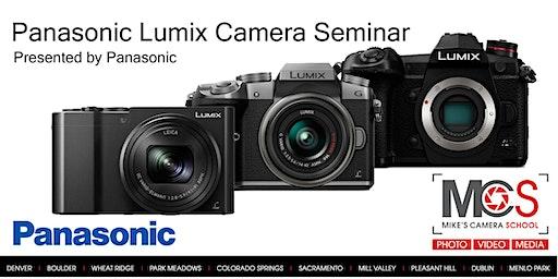 Panasonic Lumix Camera Seminar Presented by Panasonic- Dublin