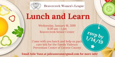 Beavercreek Women's League January Lunch and Learn