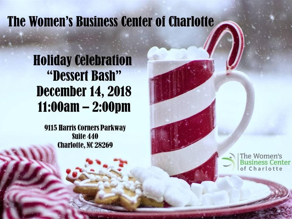 WBCC Holiday Celebration Dessert Bash At The Womens Business Center Of Charlotte