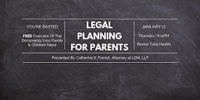 Legal Planning For Parents