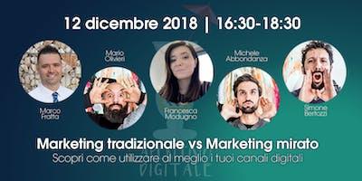 Aperitivo Digitale | Marketing mirato vs Marketing tradizionale