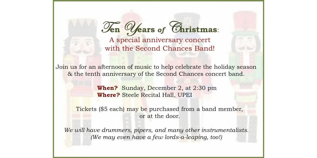 second chances concert band - 1080×540