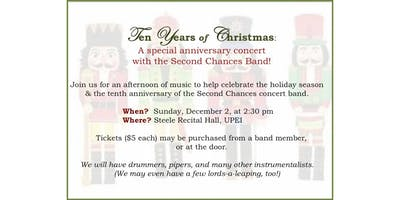 Second Chance Band Christmas Concert