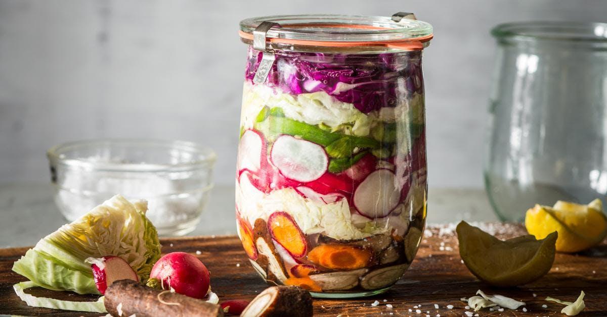 Atelier choucroute, kimchi et lacto-fermentations - Québec