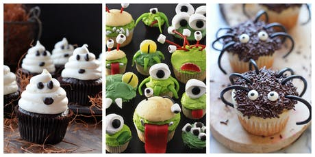 Kids Can Bake - Halloween Cupcakes tickets