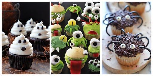 Kids Can Bake - Halloween Cupcakes