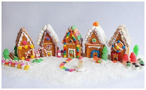 Teen Craft: Gingerbread Houses