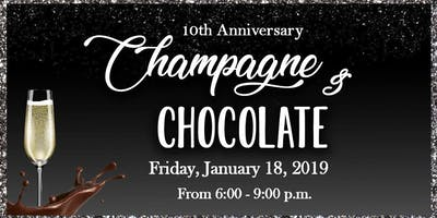 Champagne & Chocolate Fundraiser 2019