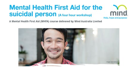Mental Health First Aid for the suicidal person - 4.5hr Workshop tickets