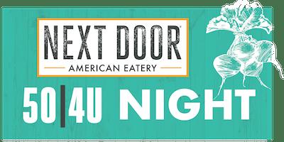 Westlake Elementary 50|4U Night at Next Door in Indy