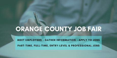 Orange County Job Fair - September 18, 2019 Job Fairs & Hiring Events in Orange County CA tickets