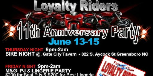 Loyalty Riders 11th Anniversary Party