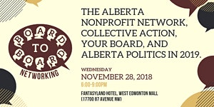 Board to Board Networking: The Alberta Nonprofit...