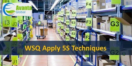 WSQ Apply 5S Techniques (WSQ COS Module 1) tickets