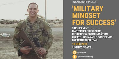 Military Mindset For Success Event