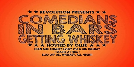 Open Mic Comedy - Hosted by Olly Iconic tickets