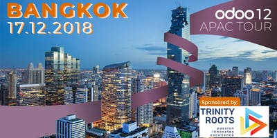 Odoo APAC Tour - Connect Odoo 12 in Bangkok