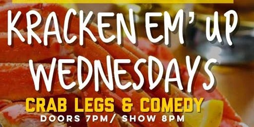 Comedy & Crab Legs Wednesdays