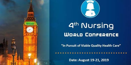 4th Nursing World Conference tickets