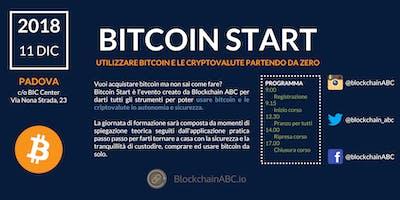 Bitcoin Start: utilizzare bitcoin e le criptovalute partendo da 0 | PADOVA