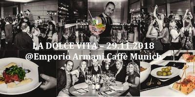 LA DOLCE VITA 29.11 presents The Great Goose Dinner @ Emporio Armani Caffe Munich