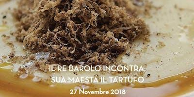 Cena a tema Tartufo e Re Barolo I Bistruccio Club