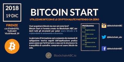 Bitcoin Start: utilizzare bitcoin e le criptovalute partendo da 0 | FIRENZE