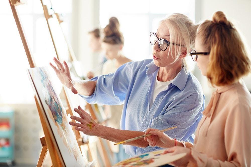 ATELIER DE PEINTURE - Apprenez à peindre à la