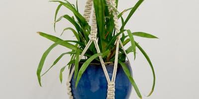 Introduction to Macramé: Hanging Planter Workshop