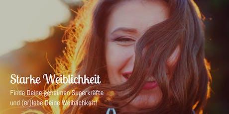 Starke Weiblichkeit (er)leben - Frauen-Retreat mit Nina Deißler  Tickets