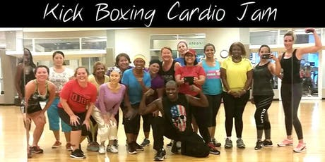 Cardio Kick boxing jam tickets