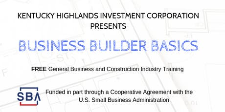 Business Builder Basics - Course 8 - Hazard, Kentucky tickets