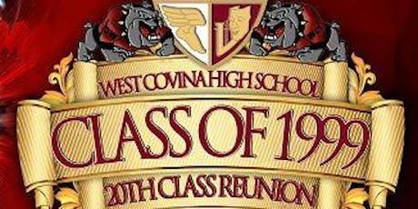 WCHS Class of 1999 Class Reunion tickets