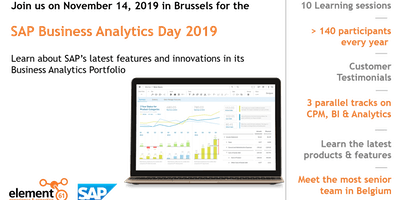 SAP Business Analytics Day 2019