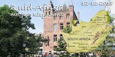 Thema-avond Zuid-Afrika met Jaco Kleynhans, ambassadeur \