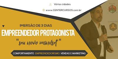 EMPREENDEDOR PROTAGONISTA: 3 cursos + 2 avaliações (São Paulo 11,12 e 13/1)