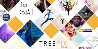 After work: 1 ans du studio Treepix