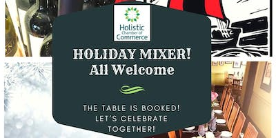 Calgary South Holistic Chamber of Commerce ~ Christmas Holiday Mixer!