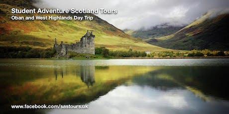 Oban & West Highlands Day Trip tickets