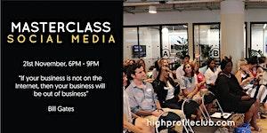 Masterclass: Social Media