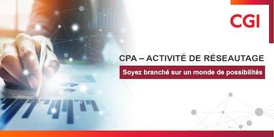 CPA – Activité de réseautage